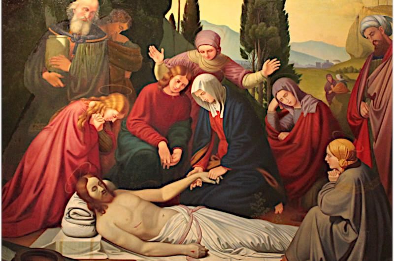 Gemälde in der Kirche Trittau